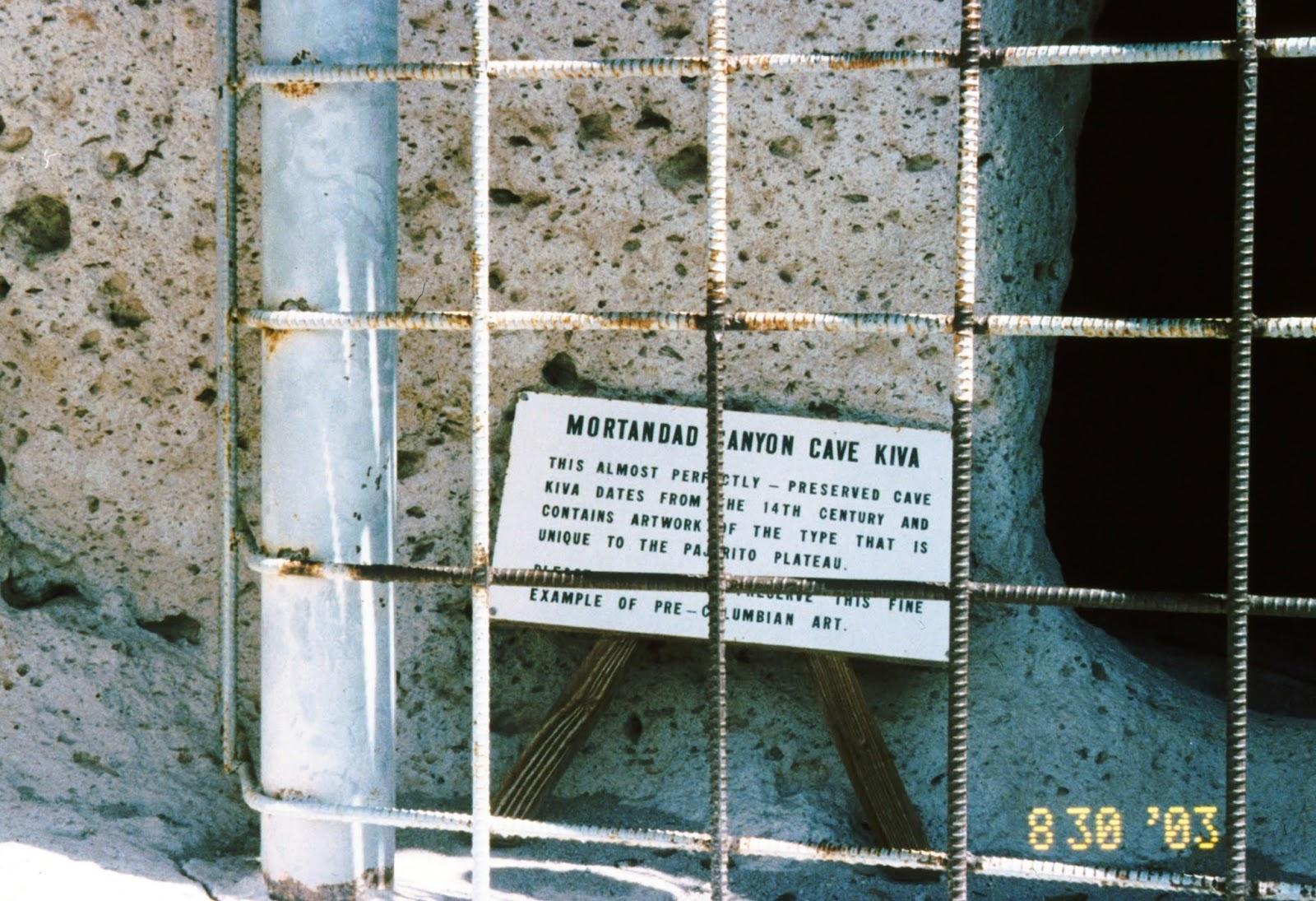 New mexico los alamos county los alamos - Cave Kiva At The Mortandad Ruin Los Alamos Nm