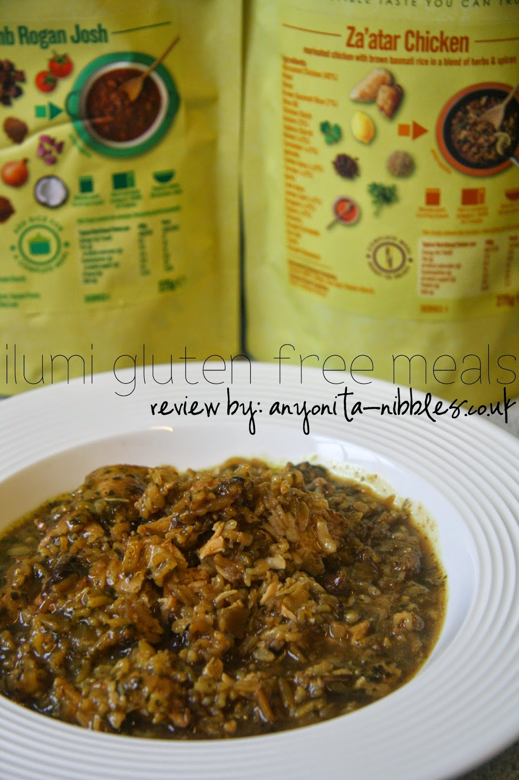 Ilumi Gluten Free Meals Review from Anyonita-nibbles.co.uk