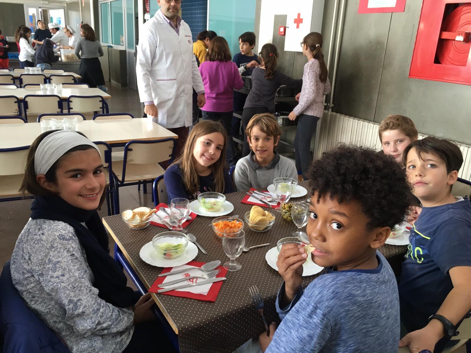 Ceip jaime balmes comedor for Mesas comedor colegio