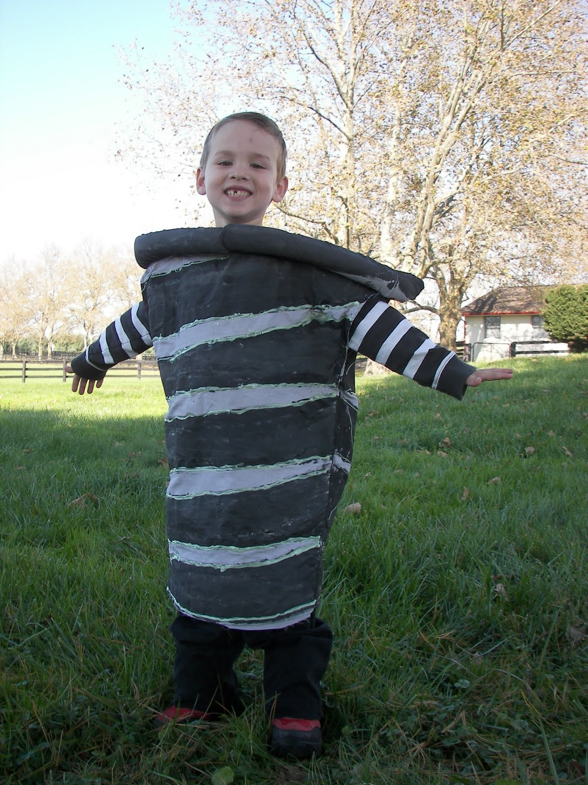 calculating blessings: random acts of craftiness #6 - tornado costume