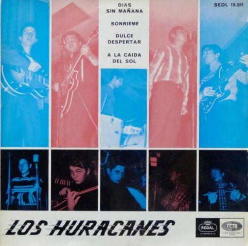 Disco LOS HURACANES - Días sin mañana