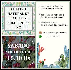 SÁBADO 7 DE OCTUBRE 15.30 HS CULTIVO NATURAL  CLIC SOBRE LA IMAGEN PARA VER TODA LA INFO