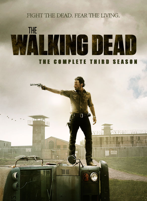 DVDs in my collection: The Walking Dead The Complete Third Season