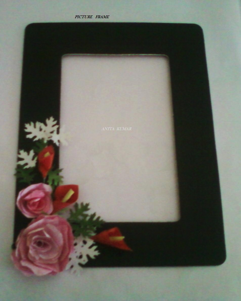 CRAFT WORLD: Photo frame and Roses