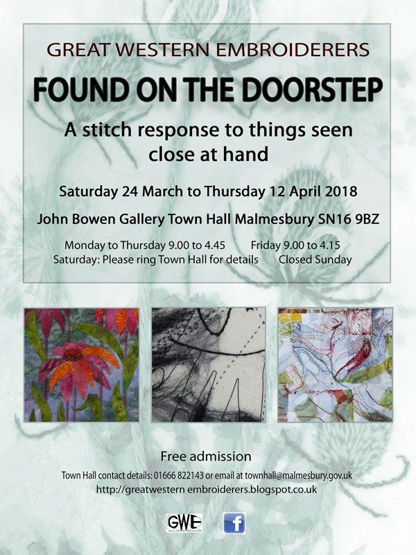 Forthcoming exhibition, Malmesbury UK