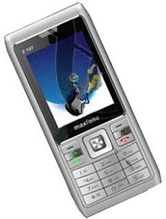 Dual SIM Mobile Maxfone Z107