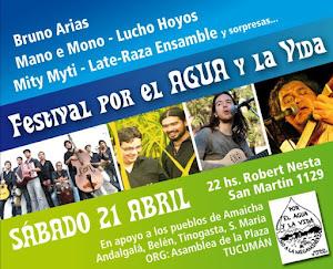 Festival por el Agua y la Vida