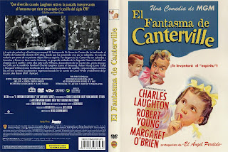 El fantasma de Canterville | 1944 | The Canterville Ghost | Cover dvd