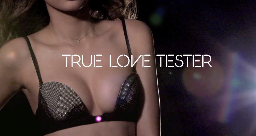 "TRUE LOVE TESTER-A ""SMART BRA"""
