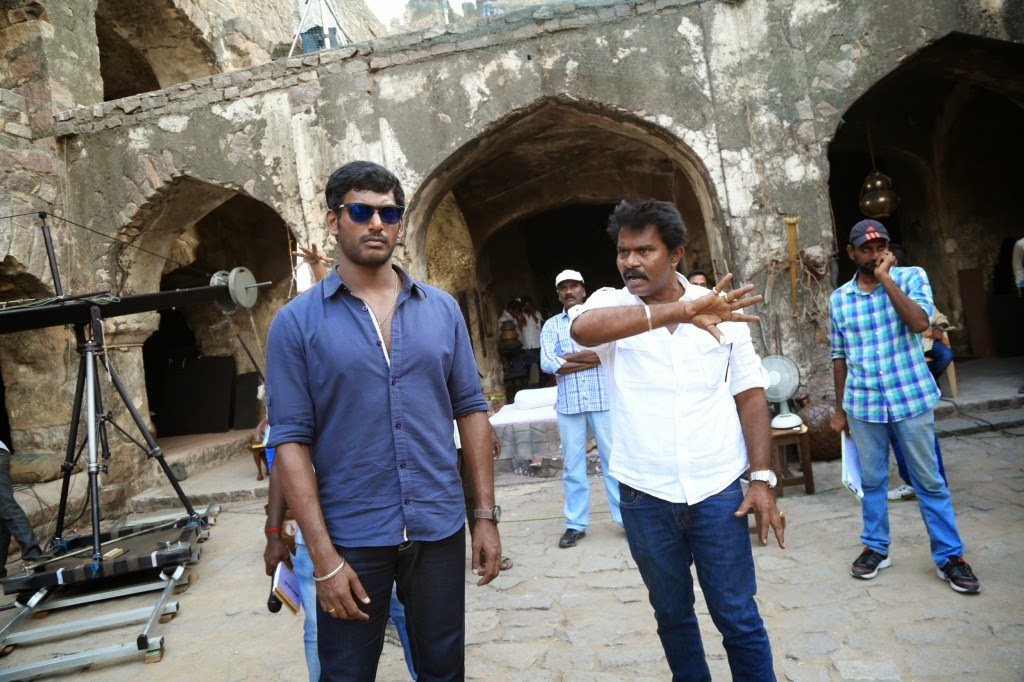 Poojai Tamil Movie Latest Shooting Spot Photos Gallery
