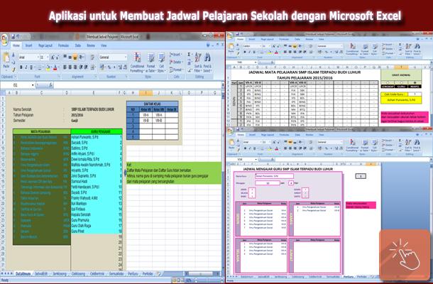 Aplikasi untuk Membuat Jadwal Pelajaran Sekolah dengan Microsoft Excel