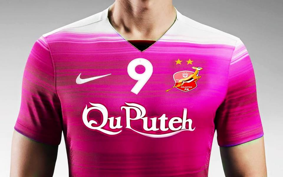 Jersi Pamoga qu puteh the red warriors