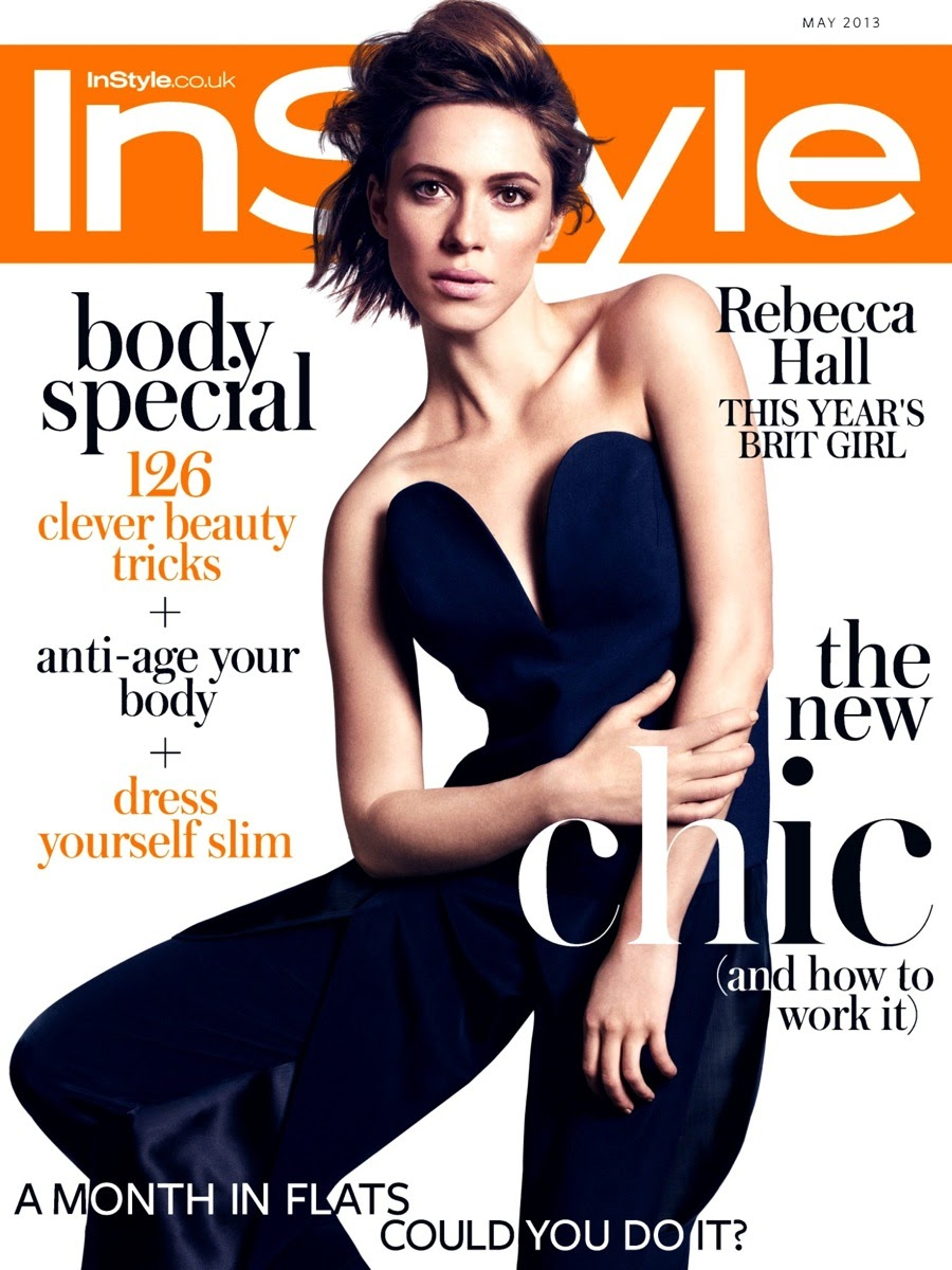 Rebecca Hall HQ Pictures InStyle UK Magazine Photoshoot May 2013