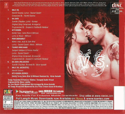 Murder 2 2011 Hindi Movie Mp3 Song Free Download
