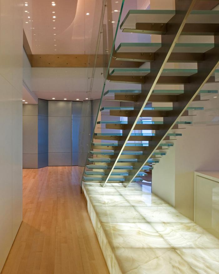 Casas minimalistas y modernas propuestas de escaleras for Escaleras casas modernas