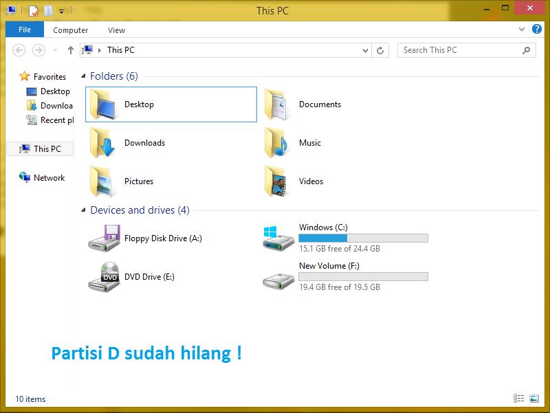 Cara Menyembunyikan Partisi di Windows Dengan Mudah