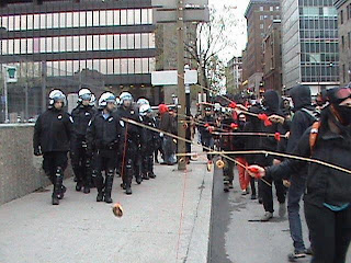 funny pictures protesters provoke the police