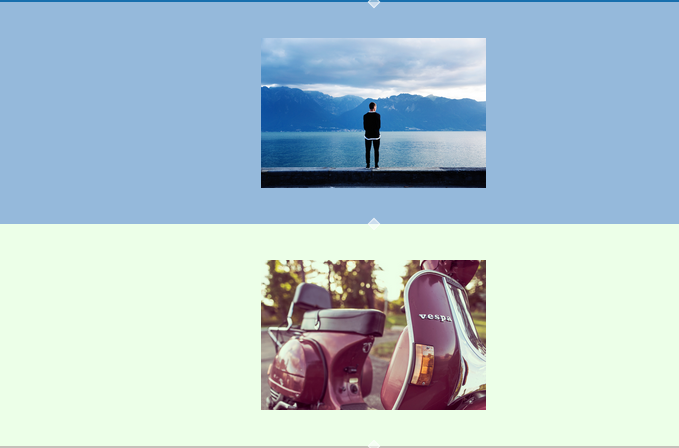 Angular Adaptive Backgrounds