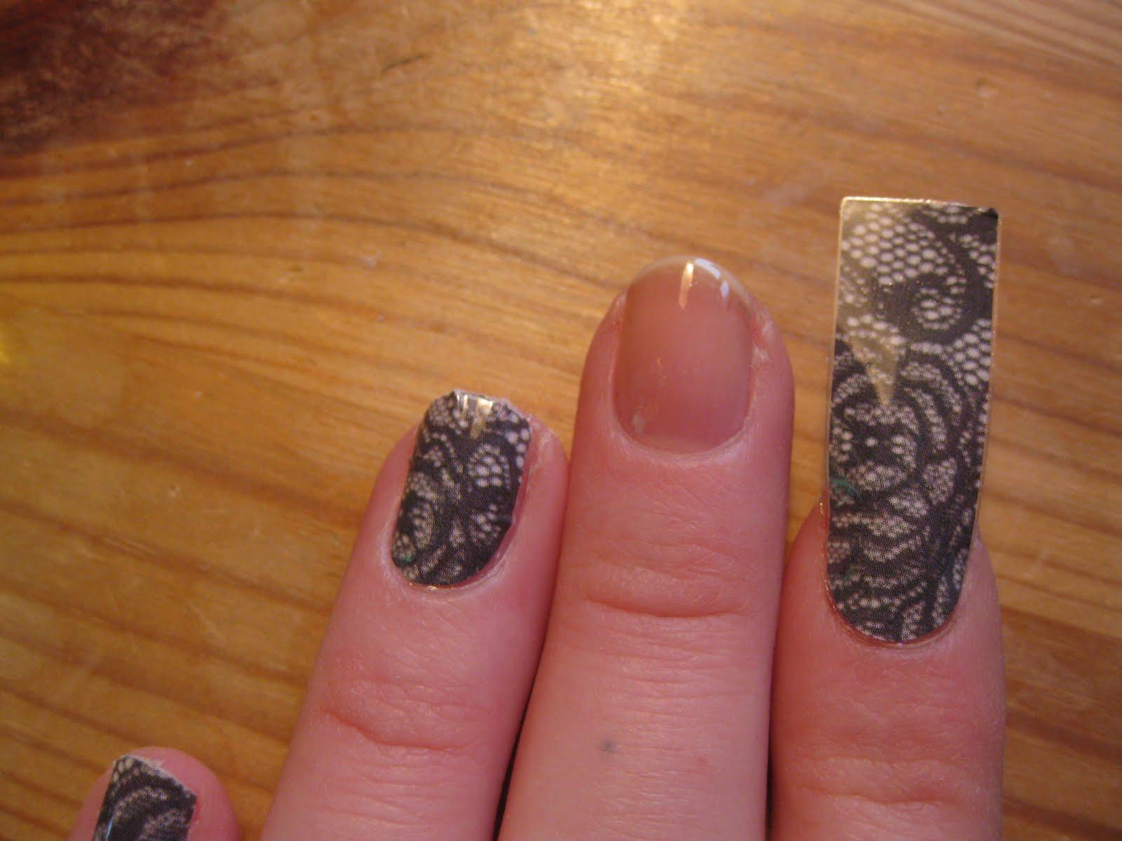 Sandra\'s Nails (not active anymore): Wild & Mild Full Nail Stickers