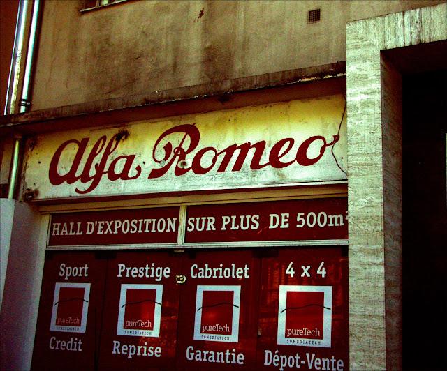 alfa romaro old town nice france