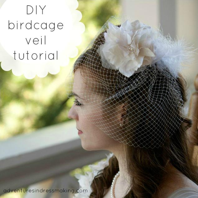 My Birdcage Veil A Tutorial Create Enjoy