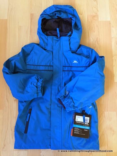 Sulivan Boy's 3 in 1 Waterproof Jacket by Trespass