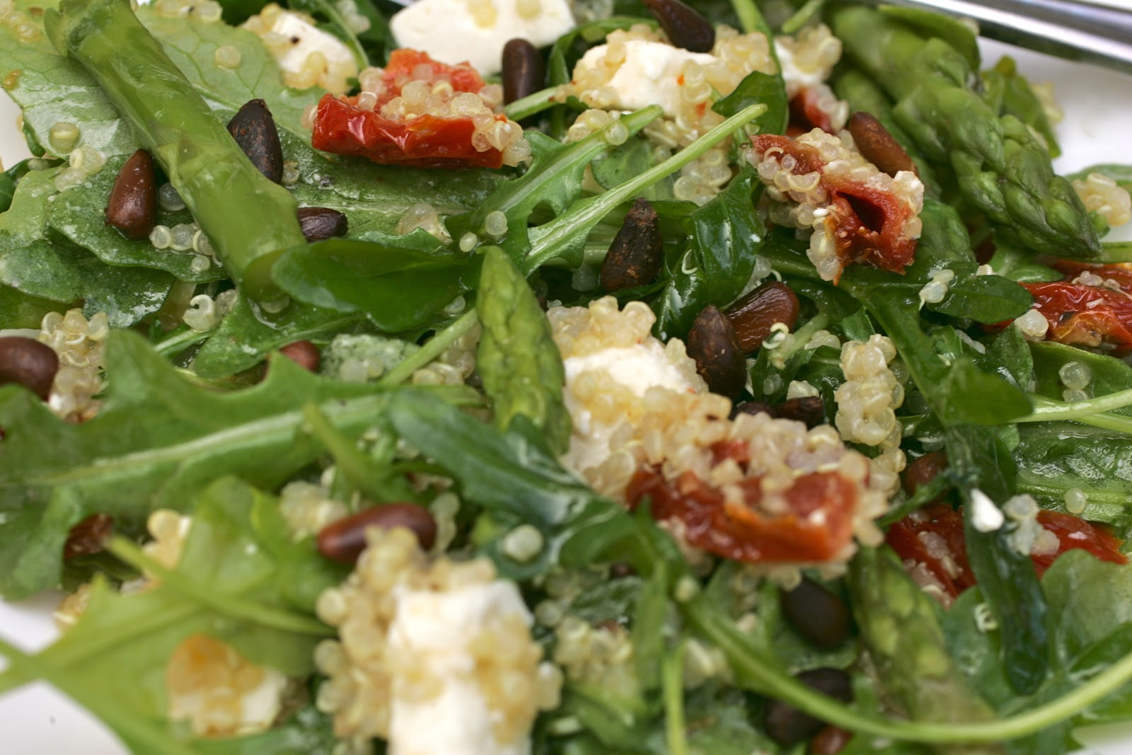 Bake It and Make It with Beth: CPK-Style Quinoa Salad with Arugula