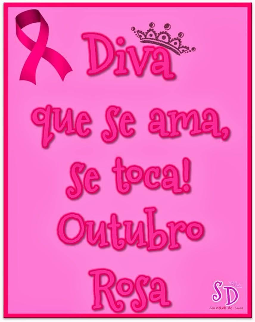 Populares Sociedade de Divas: Outubro Rosa - Se Toque! YH88