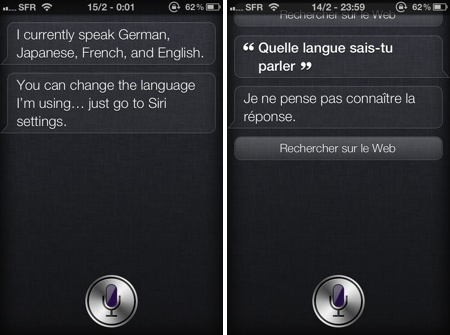 Apple Siri Japanese assistant
