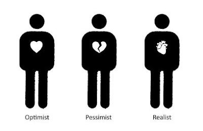 optimism pessimism realism photo