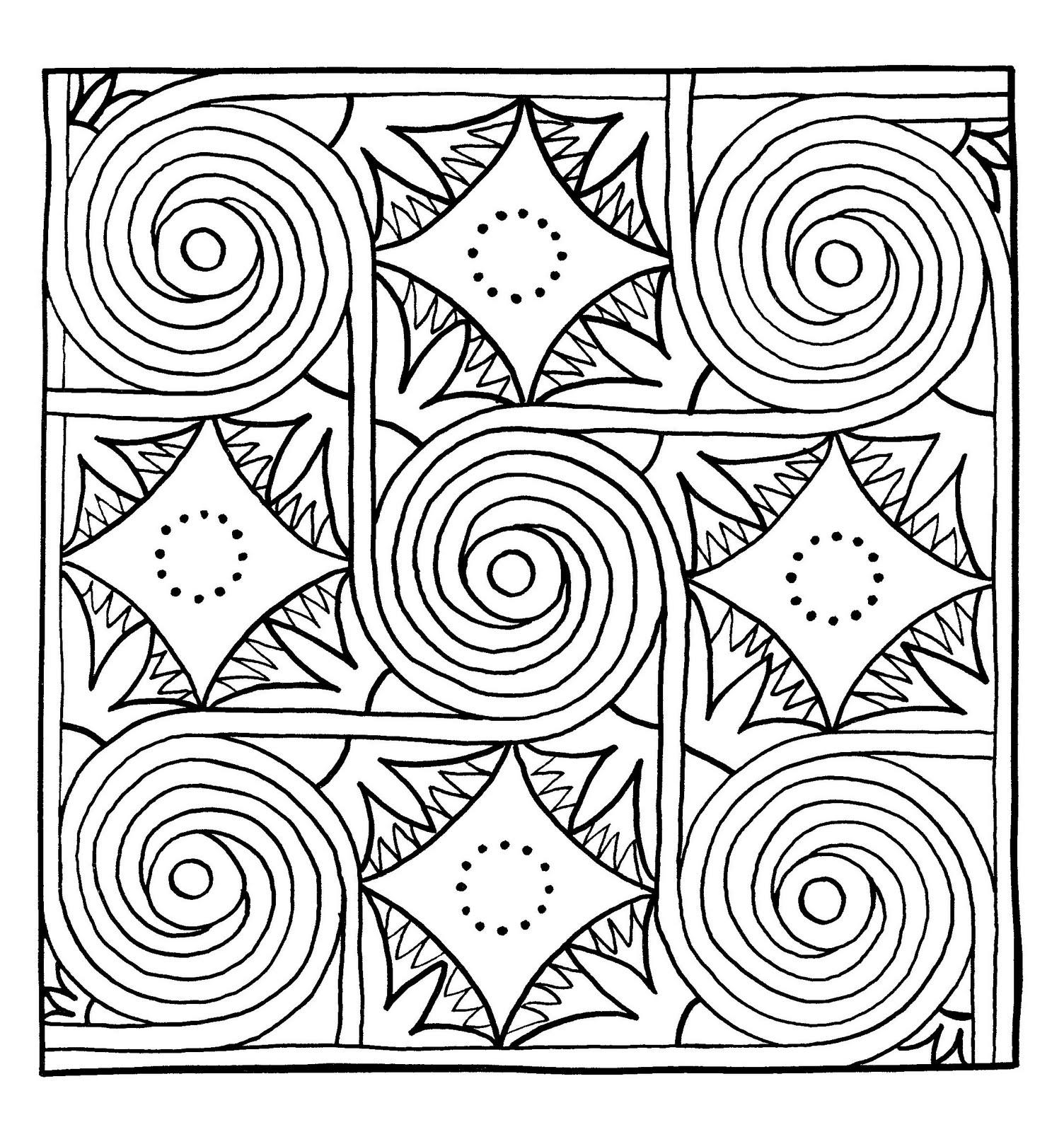 Mandalas Para Pintar: Los cinco sentidos