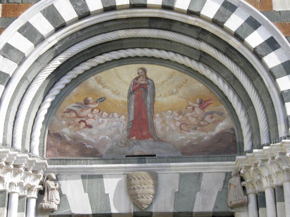 Tabernacoli italiani prato madonna con gli angeli for Piazza san francesco prato