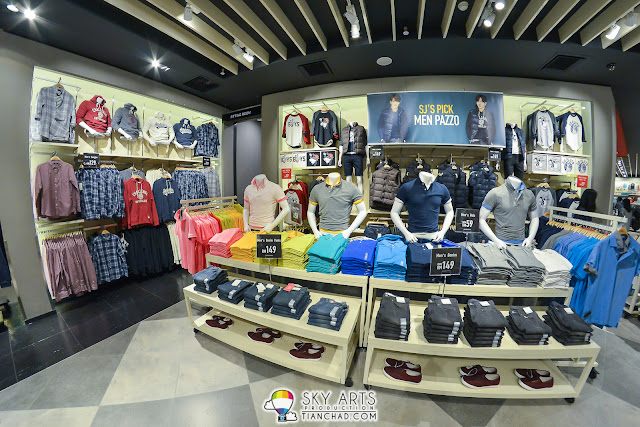 Colorful POLO T-Shirt in SPAO Malaysia