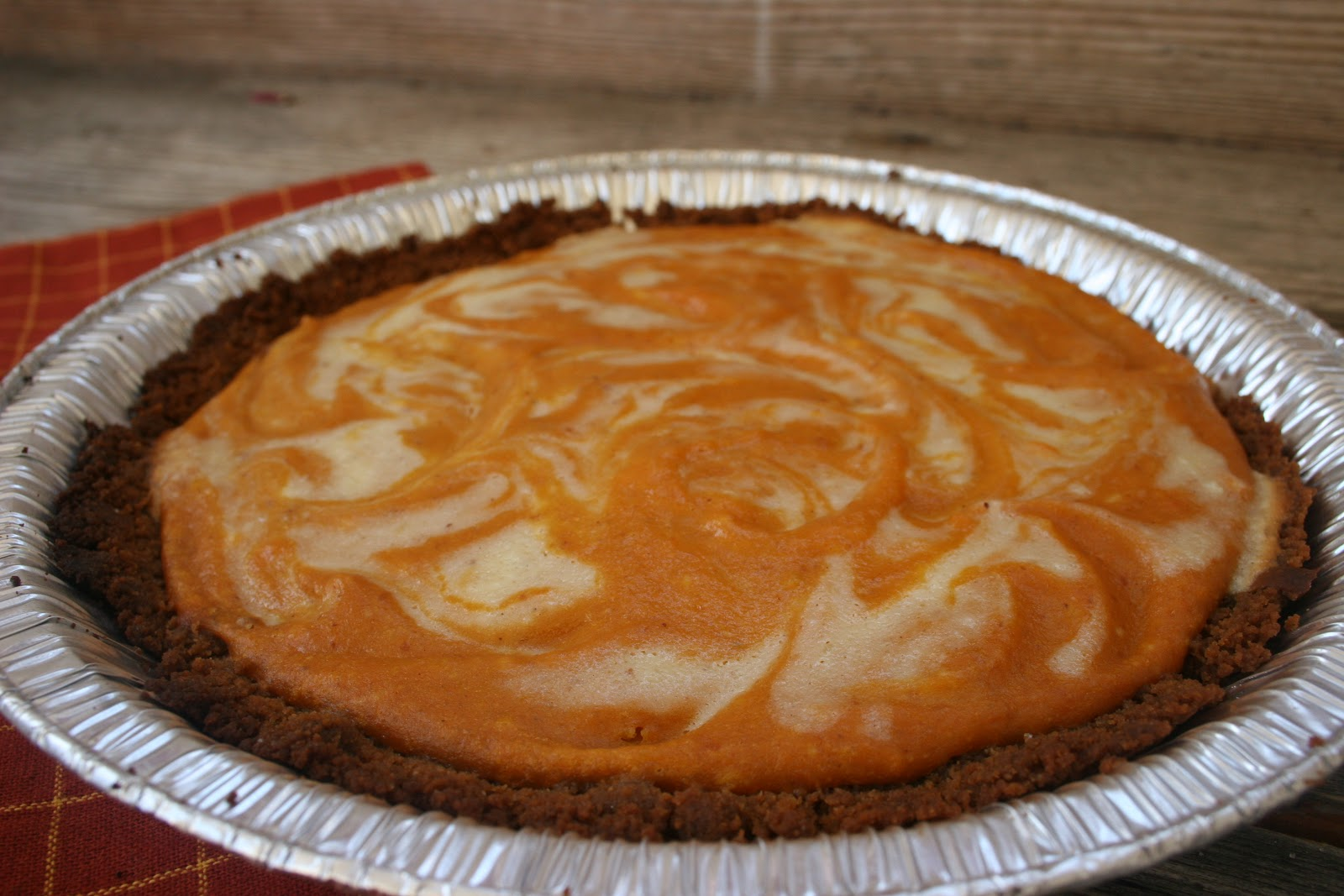 Nothing in the House: Pumpkin Ginger Cheesecake Pie & Other ...