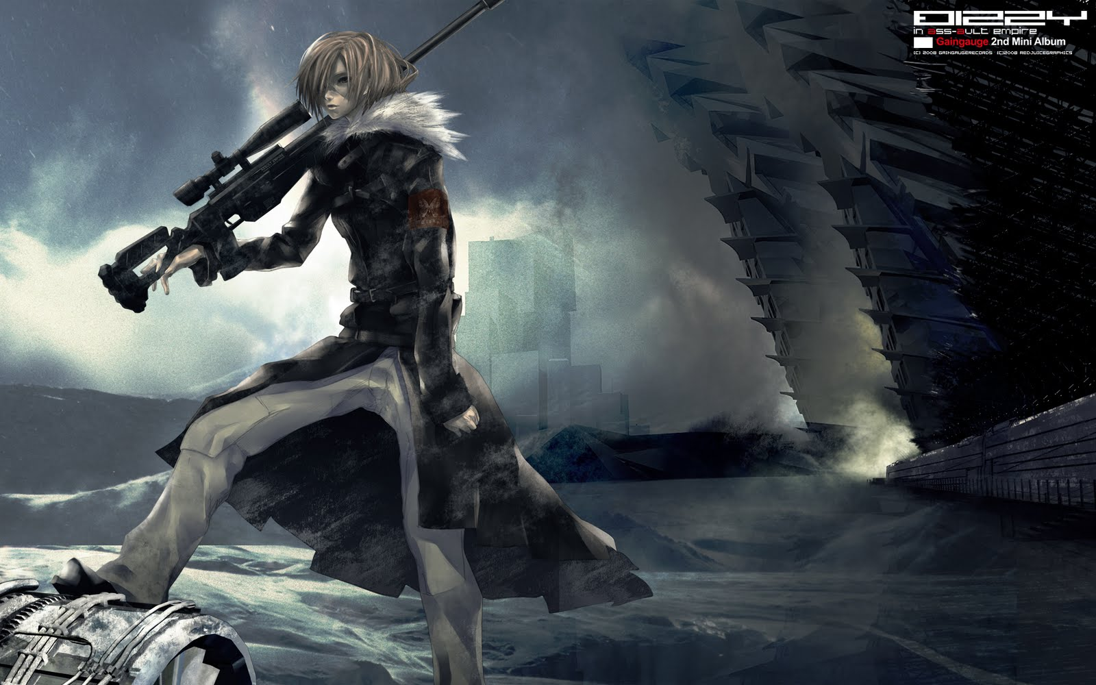 Sniper Rifle anime