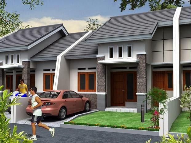 Contoh Model Rumah Type 45 Terbaru