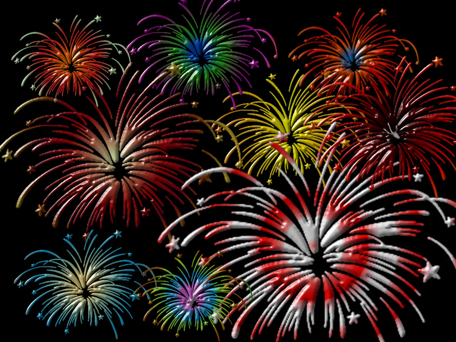 fireworks Wallpaper