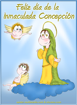 Feliz 8 de Diciembre Dia De La Virgen