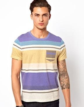 camisa rayas asos