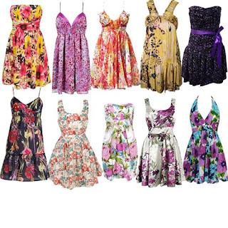 fotos de vestidos havaianos