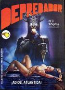 Depredador: revista erótica de relatos gráficos para adultos: tercera entrega