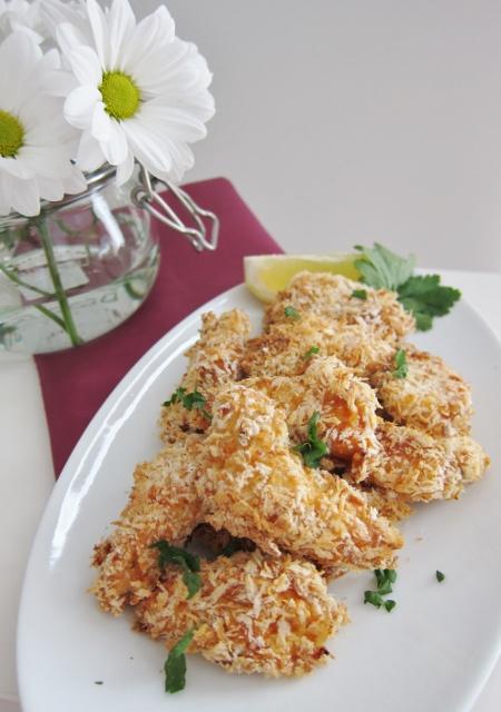 Crunchy Oven Fried Chicken | nomsieskitchen.com