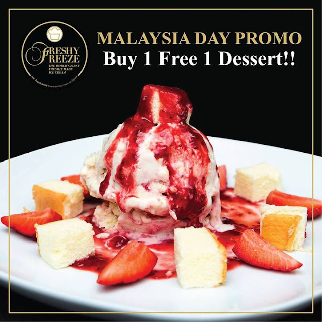 Freshly Freeze Malaysia, Freshly Freeze, Fried Ice Cream, World's First Freshly Made Ice Cream, Best Fresh Ice Cream, Freshly Made Desserts, Thailand Ice Cream, nu sentral mall