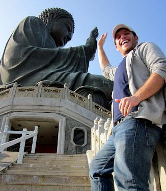 high five buddha