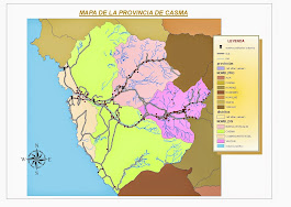 mapa de Casma