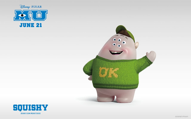 Squishy In Monsters University