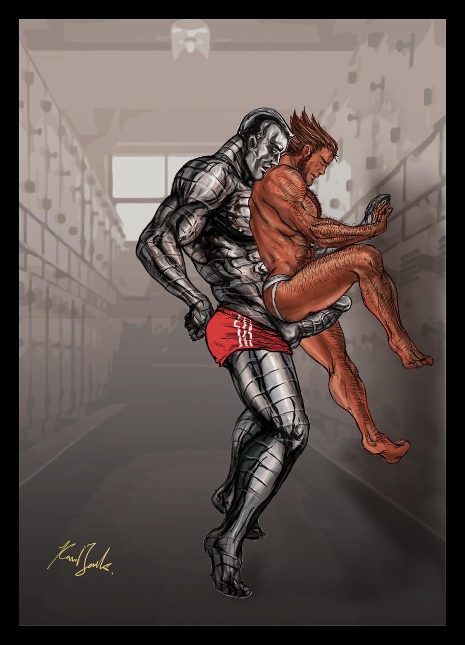 Гей Порно Комикс Росомаха