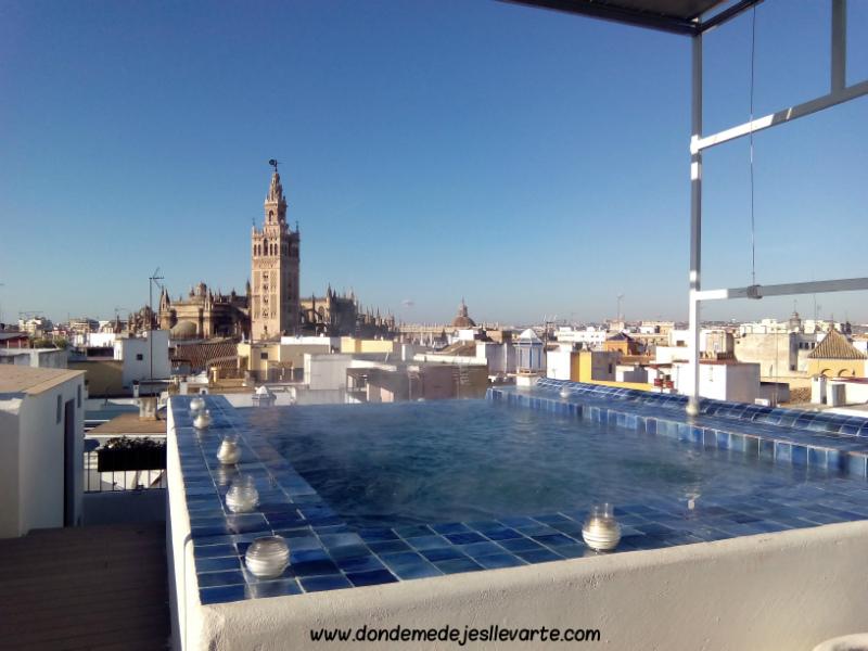 Aire De Sevilla Baños Arabes | Donde Me Dejes Llevarte Relax Refrescante En Los Banos Arabes De