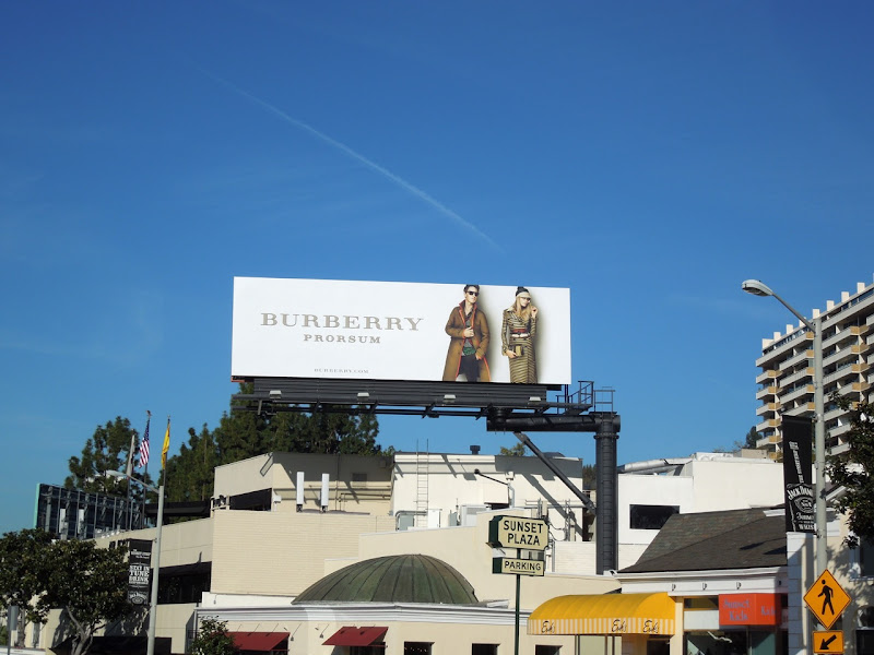 Burberry Prorsum billboard