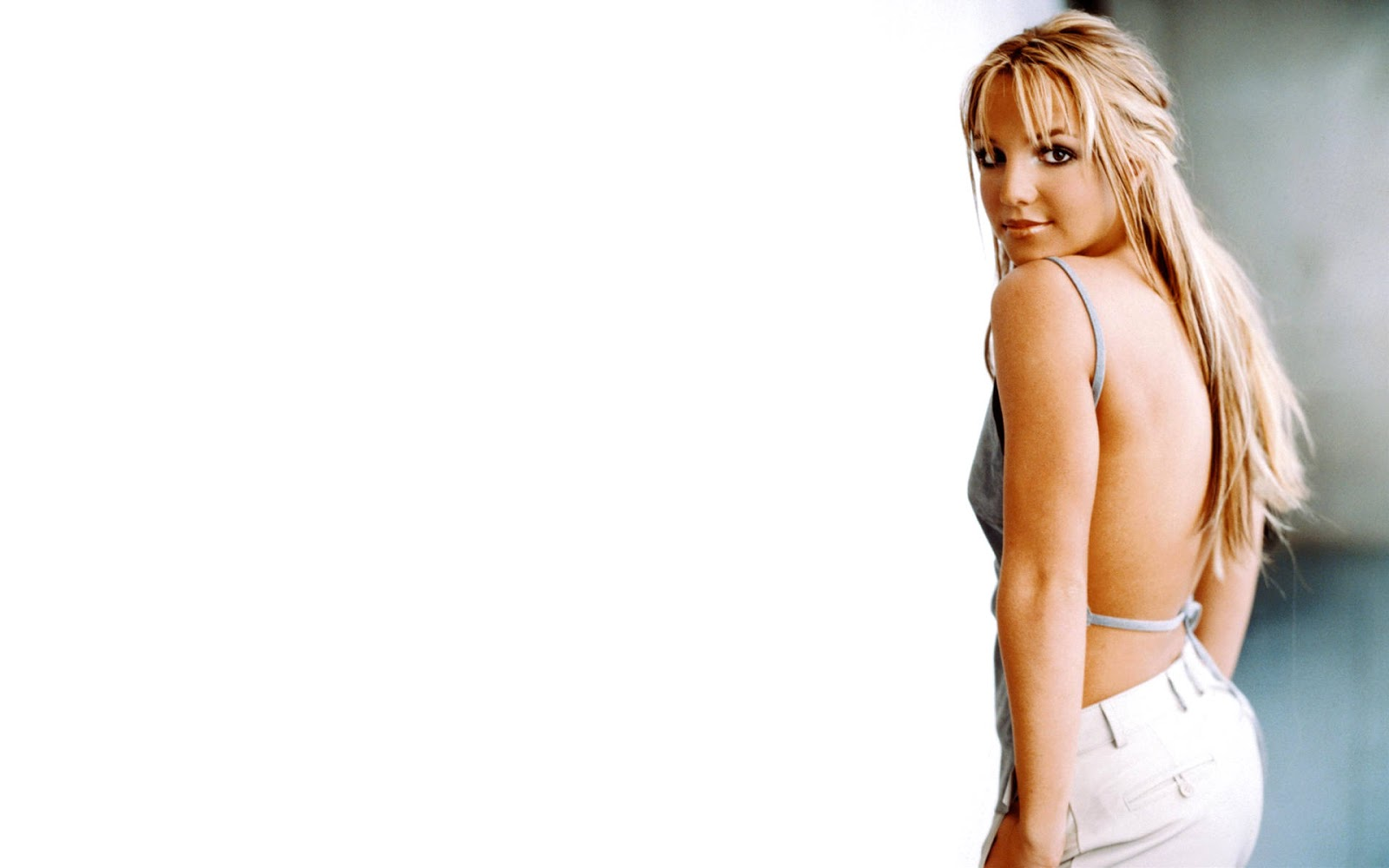 Britney Spears Beautiful White